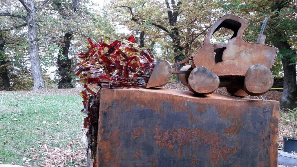 Sculpture Valais 3e Âge de Fer Trax CarterHilare