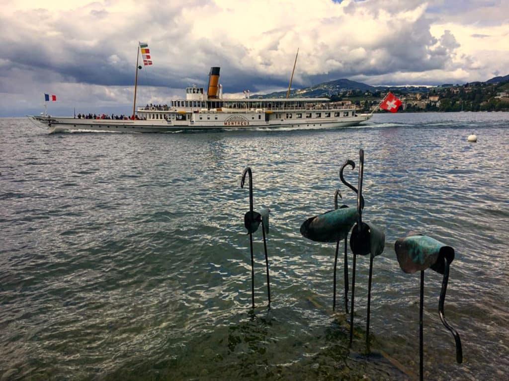 Flamants pour la Biennale de Montreux 2019