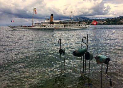 Flamants Biennale Montreux