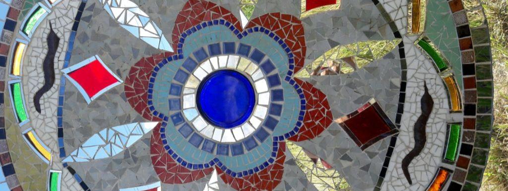 Mandala en mosaïque
